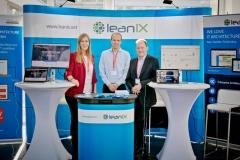 Aussteller im Foyer -Premium-Aussteller LeanIX GmbH