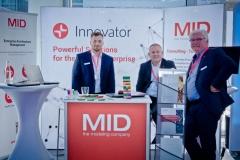 Aussteller im Foyer - Premium-Aussteller MID GmbH