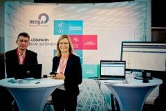 Aussteller im Foyer - Premium-Aussteller MEGA International