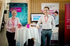 Aussteller im Foyer - Iteratec GmbH