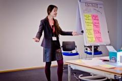 """Birgit Mallow (Organisationsentwiklcung und Prozessberatung) """"Scrum statt Lean Management?"""" - Vortrag Track 3"""