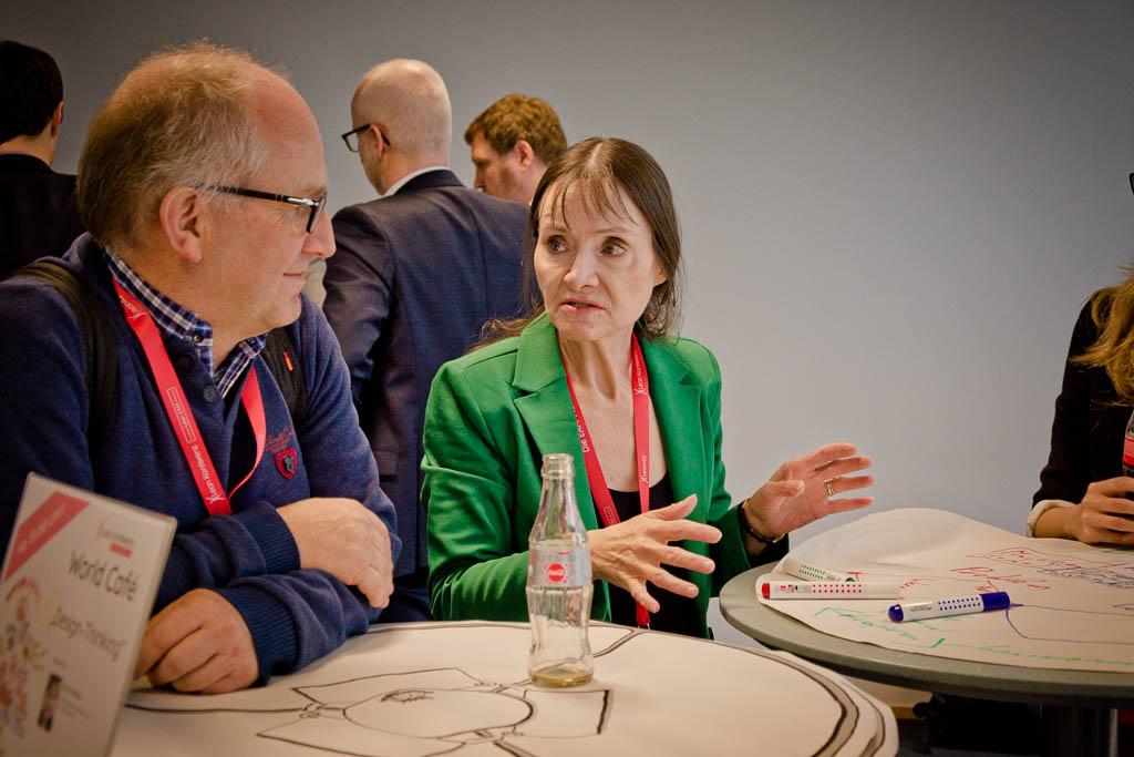 World-Café »Design-Thinking« mit Birgit Mallow