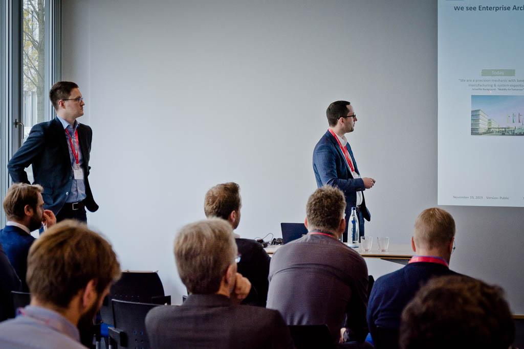 Dr. Andreas J. Wagner & Lutz J. Mayer (SCHAEFFLER AG) »Business Architecture to enable the Digital Transformation at Schaeffler«