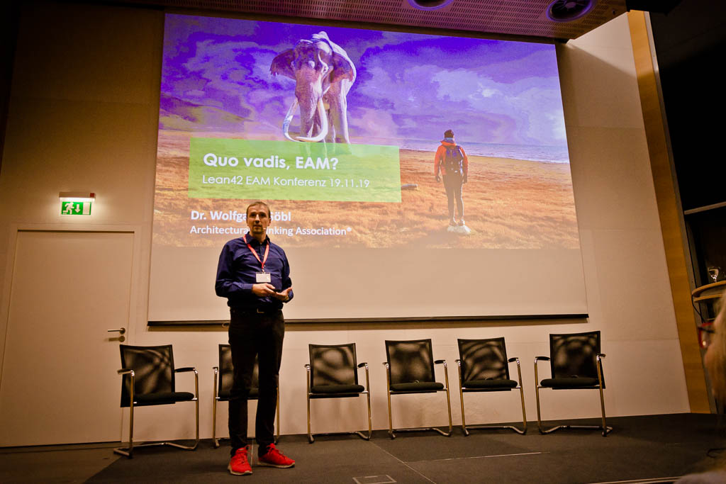 Keynote Dr. Wolfgang Göbl (Architectural Thinking Association) »Quo vadis EAM?«