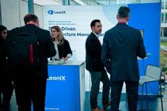 Aussletter im Foyer - LeanIX GmbH