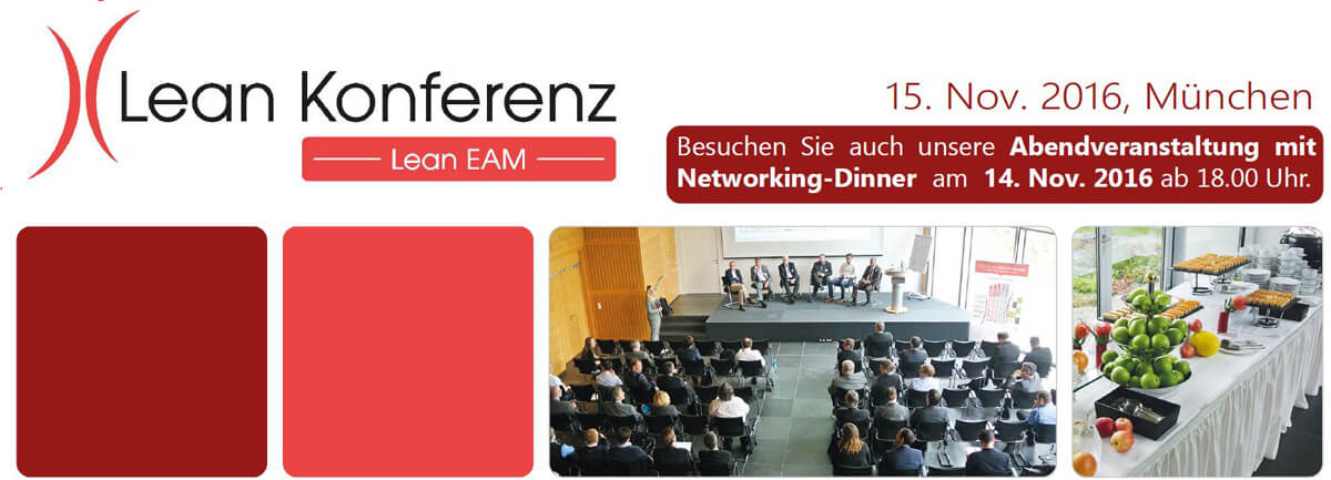 Lean EAM Konferenz 14. & 15. November 2016