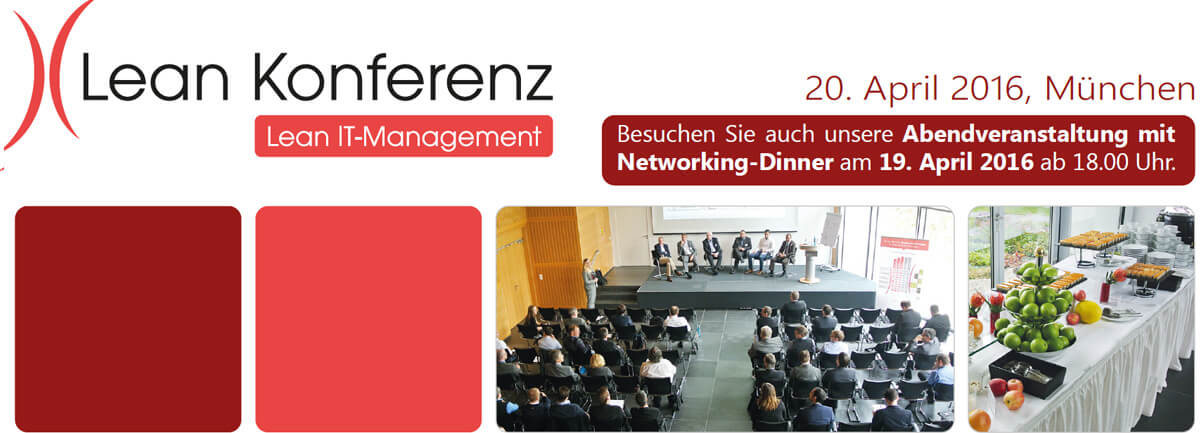 Lean IT-Management Konferenz 19. & 20.04.2016