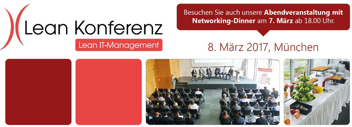 Lean IT-Management Konferenz 07. & 08.03.2017