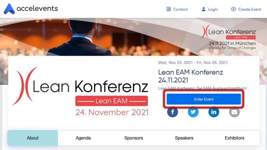 Accelevents-Event-Einstiegsseite Enter 2021